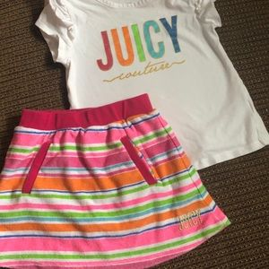 Juicy Skort Set